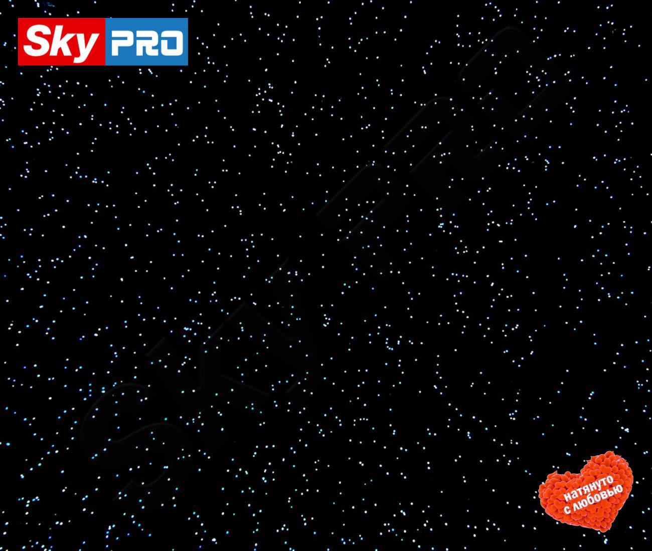 Натяжной потолок Чёрная галактика цена за метр в квадрате