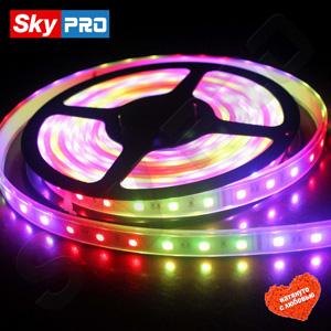 Светодиодный Светодиодная лента Lux цвет хром цена