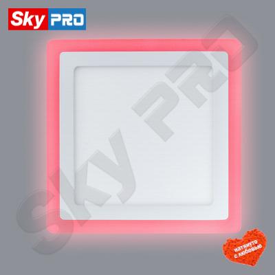 Светодиодный светильник LPL 6+3 w с красной подсветкой