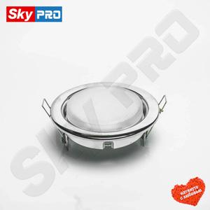 Светодиодный светильник SkyPRO 53 цвет хром цена