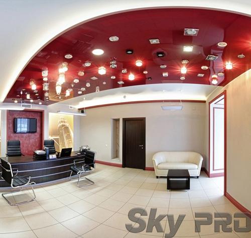 светильники в офисе SkyPRO в Гдове